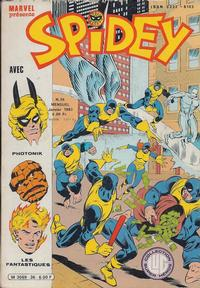 Cover Thumbnail for Spidey (Editions Lug, 1979 series) #36