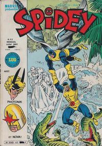 Cover Thumbnail for Spidey (Editions Lug, 1979 series) #42