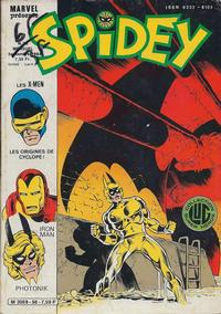 Cover Thumbnail for Spidey (Editions Lug, 1979 series) #56