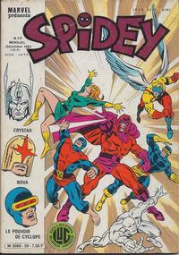 Cover Thumbnail for Spidey (Editions Lug, 1979 series) #59