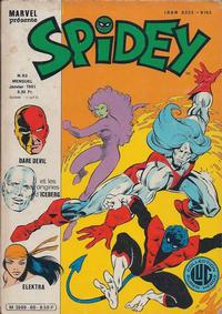 Cover Thumbnail for Spidey (Editions Lug, 1979 series) #60
