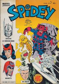 Cover Thumbnail for Spidey (Editions Lug, 1979 series) #61