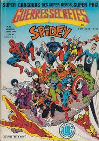 Cover Thumbnail for Spidey (Editions Lug, 1979 series) #66