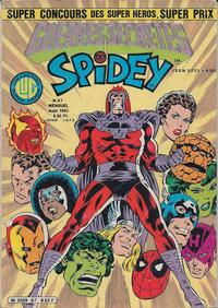 Cover Thumbnail for Spidey (Editions Lug, 1979 series) #67