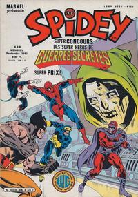 Cover Thumbnail for Spidey (Editions Lug, 1979 series) #68