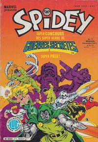 Cover for Spidey (Editions Lug, 1979 series) #71