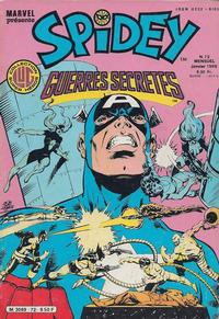 Cover Thumbnail for Spidey (Editions Lug, 1979 series) #72