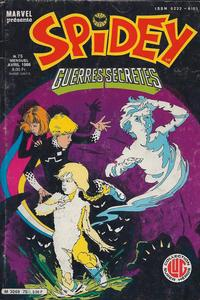 Cover Thumbnail for Spidey (Editions Lug, 1979 series) #75