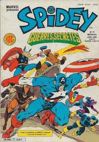 Cover Thumbnail for Spidey (Editions Lug, 1979 series) #77