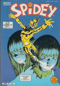 Cover Thumbnail for Spidey (Editions Lug, 1979 series) #83