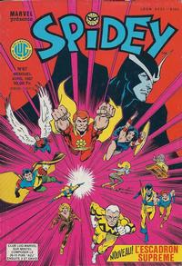 Cover Thumbnail for Spidey (Editions Lug, 1979 series) #87
