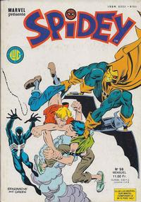 Cover Thumbnail for Spidey (Editions Lug, 1979 series) #98