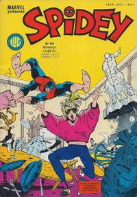 Cover Thumbnail for Spidey (Editions Lug, 1979 series) #99
