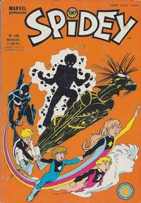 Cover Thumbnail for Spidey (Editions Lug, 1979 series) #103