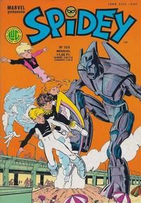 Cover Thumbnail for Spidey (Editions Lug, 1979 series) #105