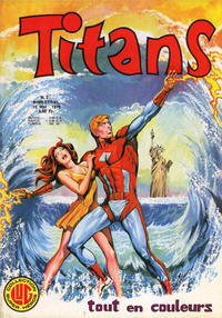 Cover Thumbnail for Titans (Editions Lug, 1976 series) #2