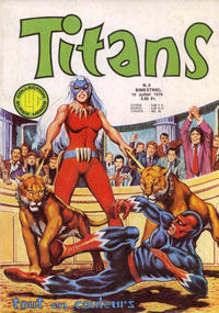 Cover Thumbnail for Titans (Editions Lug, 1976 series) #3