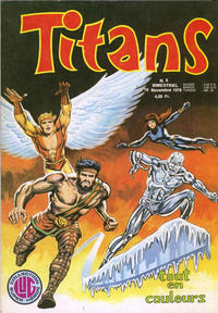 Cover Thumbnail for Titans (Editions Lug, 1976 series) #5
