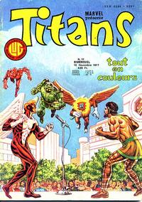 Cover Thumbnail for Titans (Editions Lug, 1976 series) #11