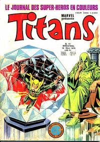 Cover Thumbnail for Titans (Editions Lug, 1976 series) #19