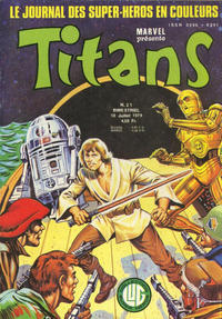Cover Thumbnail for Titans (Editions Lug, 1976 series) #21