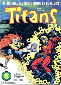 Cover Thumbnail for Titans (Editions Lug, 1976 series) #23