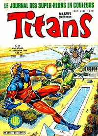 Cover Thumbnail for Titans (Editions Lug, 1976 series) #28