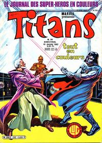 Cover Thumbnail for Titans (Editions Lug, 1976 series) #30
