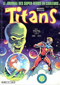 Cover Thumbnail for Titans (Editions Lug, 1976 series) #31