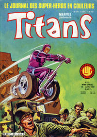 Cover Thumbnail for Titans (Editions Lug, 1976 series) #33