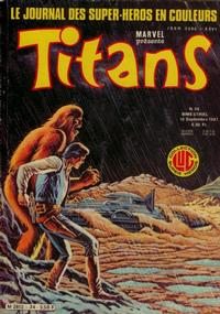 Cover Thumbnail for Titans (Editions Lug, 1976 series) #34