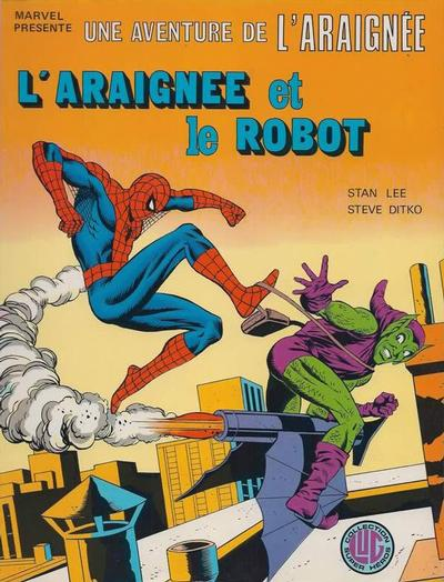 Cover for Une Aventure de l'Araignée (Editions Lug, 1977 series) #15