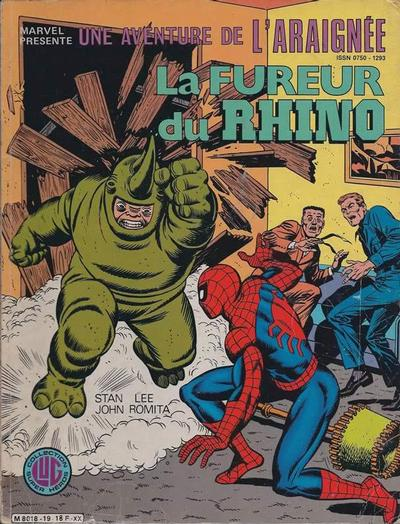 Cover for Une Aventure de l'Araignée (Editions Lug, 1977 series) #19