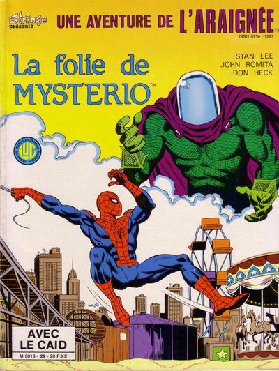 Cover for Une Aventure de l'Araignée (Editions Lug, 1977 series) #29