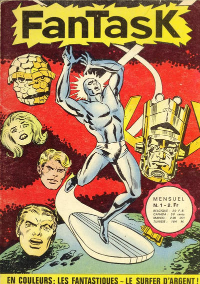 Cover for Fantask (Editions Lug, 1969 series) #1