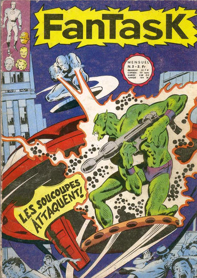 Cover for Fantask (Editions Lug, 1969 series) #2