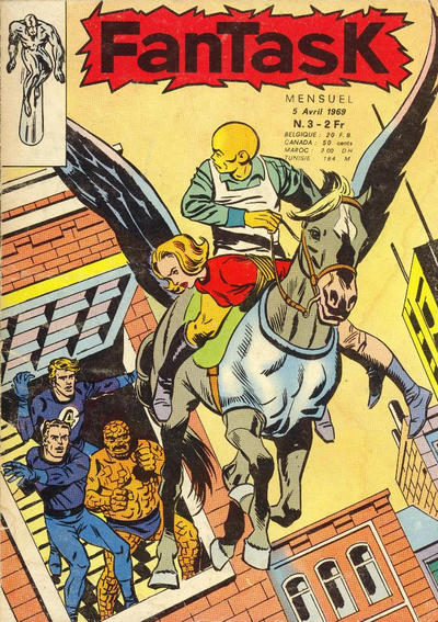 Cover for Fantask (Editions Lug, 1969 series) #3