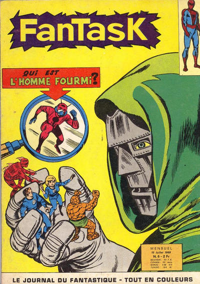 Cover for Fantask (Editions Lug, 1969 series) #6