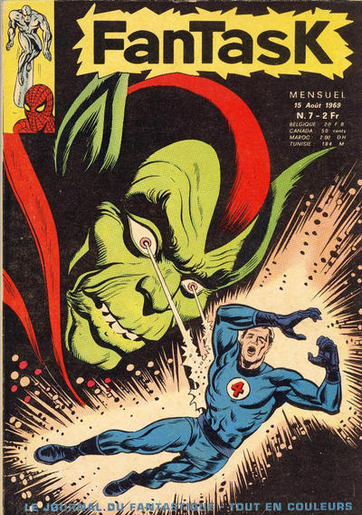 Cover for Fantask (Editions Lug, 1969 series) #7