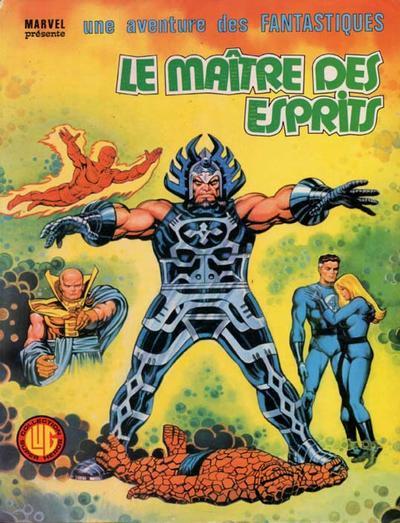 Cover for Une Aventure des Fantastiques (Editions Lug, 1973 series) #18