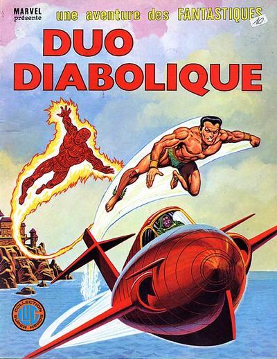 Cover for Une Aventure des Fantastiques (Editions Lug, 1973 series) #22