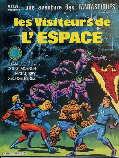 Cover for Une Aventure des Fantastiques (Editions Lug, 1973 series) #35