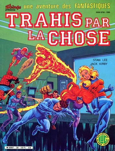 Cover for Une Aventure des Fantastiques (Editions Lug, 1973 series) #38