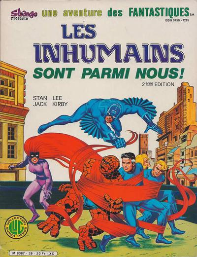 Cover for Une Aventure des Fantastiques (Editions Lug, 1973 series) #39
