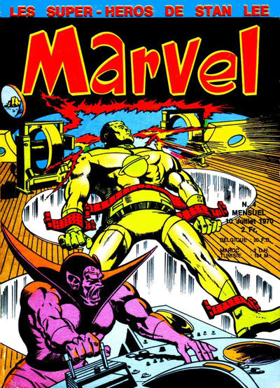 Cover for Marvel (Editions Lug, 1970 series) #4