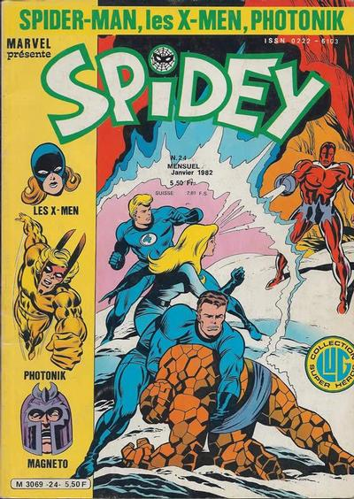 Cover for Spidey (Editions Lug, 1979 series) #24