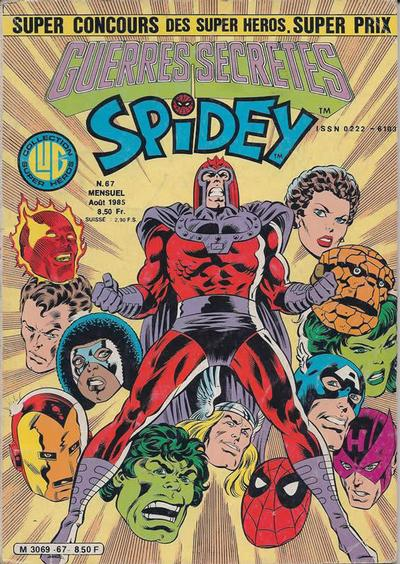 Cover for Spidey (Editions Lug, 1979 series) #67