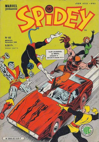 Cover for Spidey (Editions Lug, 1979 series) #82
