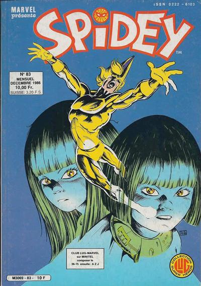 Cover for Spidey (Editions Lug, 1979 series) #83