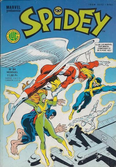 Cover for Spidey (Editions Lug, 1979 series) #94